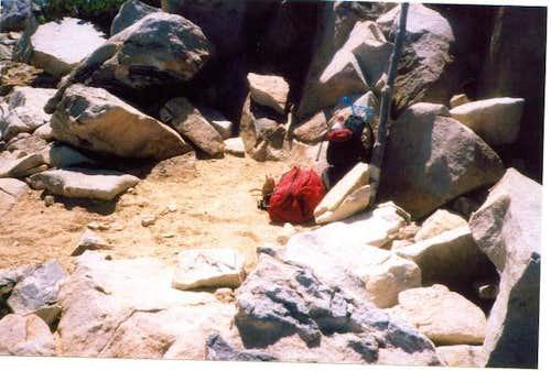 At the Summit of Mount San...