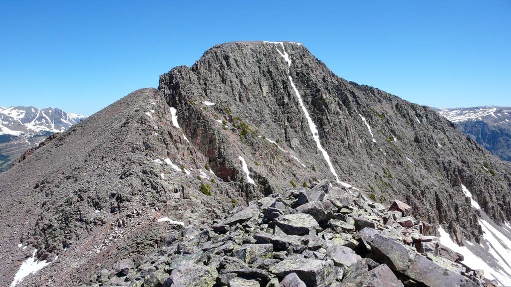 Snowdon Peak & its SW Ridge