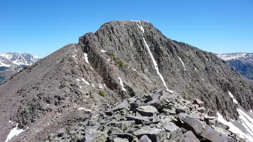 Snowdon Peak & its SW Ridge