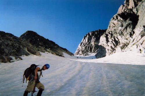 Climbing Lamb's Slide
