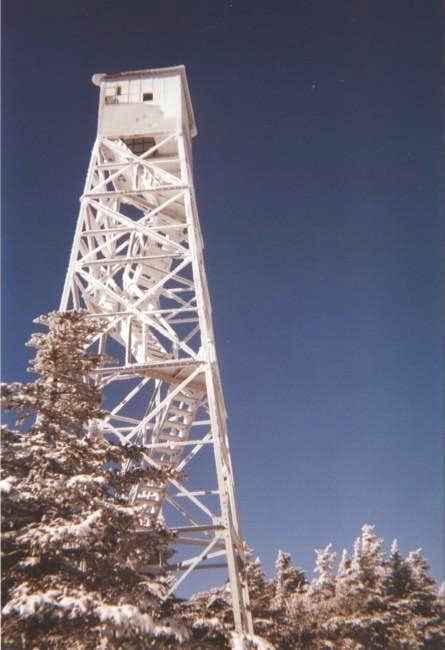 The Firetower on Stratton...