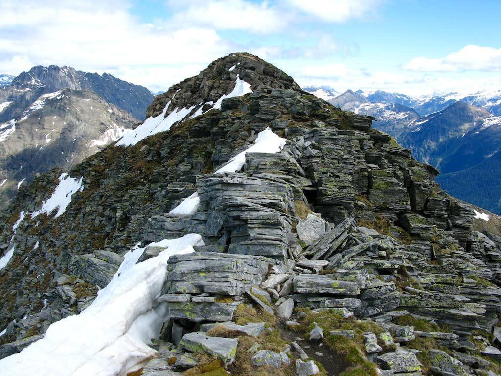 Summit of Pizzo di Claro 2727m