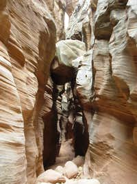 Upper Chute Canyon