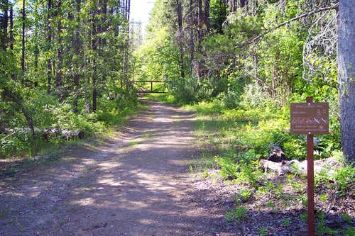 The Apgar Trailhead