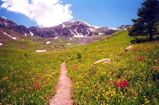 July 12, 1998 Handies Peak...