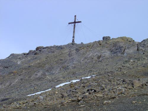 Summit cross Schesaplana 2964m