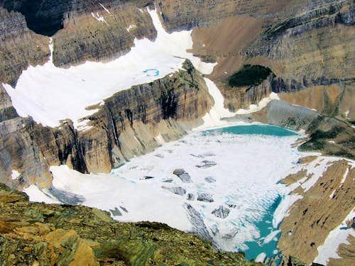 Grinnell Glacier & The Salamander.