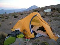 Our Base Camp On Chachani