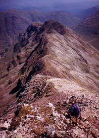 This is the ridge of Beinn...
