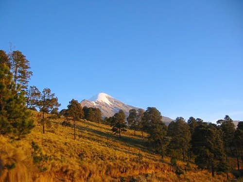 Pico De Orizaba in the...