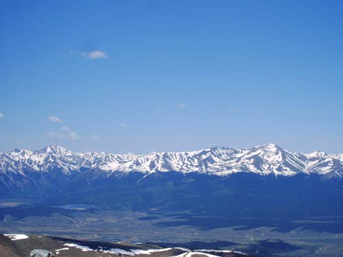 Mount Elbert and La Plata Peak
