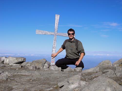 Summit of Brisen 2404m