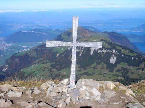 Summit cross of Brisen 2404m