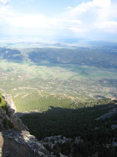 Summit of Laramie Peak, Wyoming