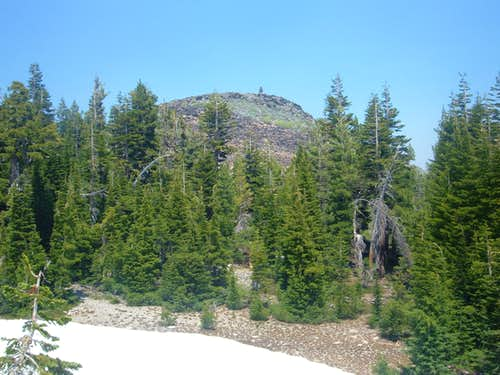 Haskell Peak summit