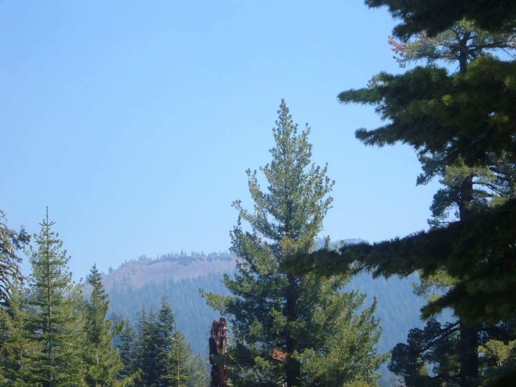 Haskell Peak from the Forest Service Road