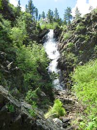 Garden Creek Waterfall, Casper, Wyoming