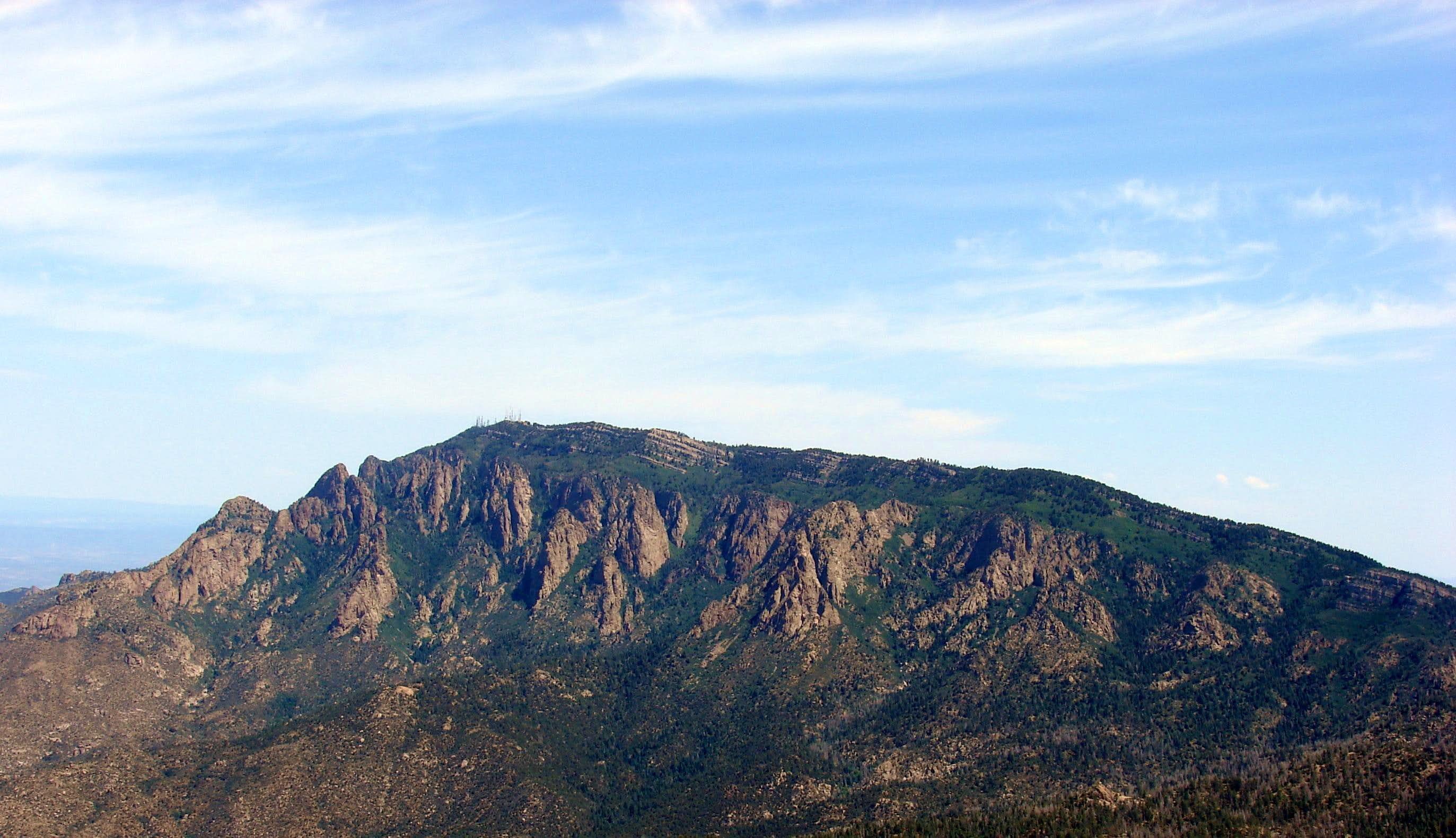 Sandia Mountain Summits