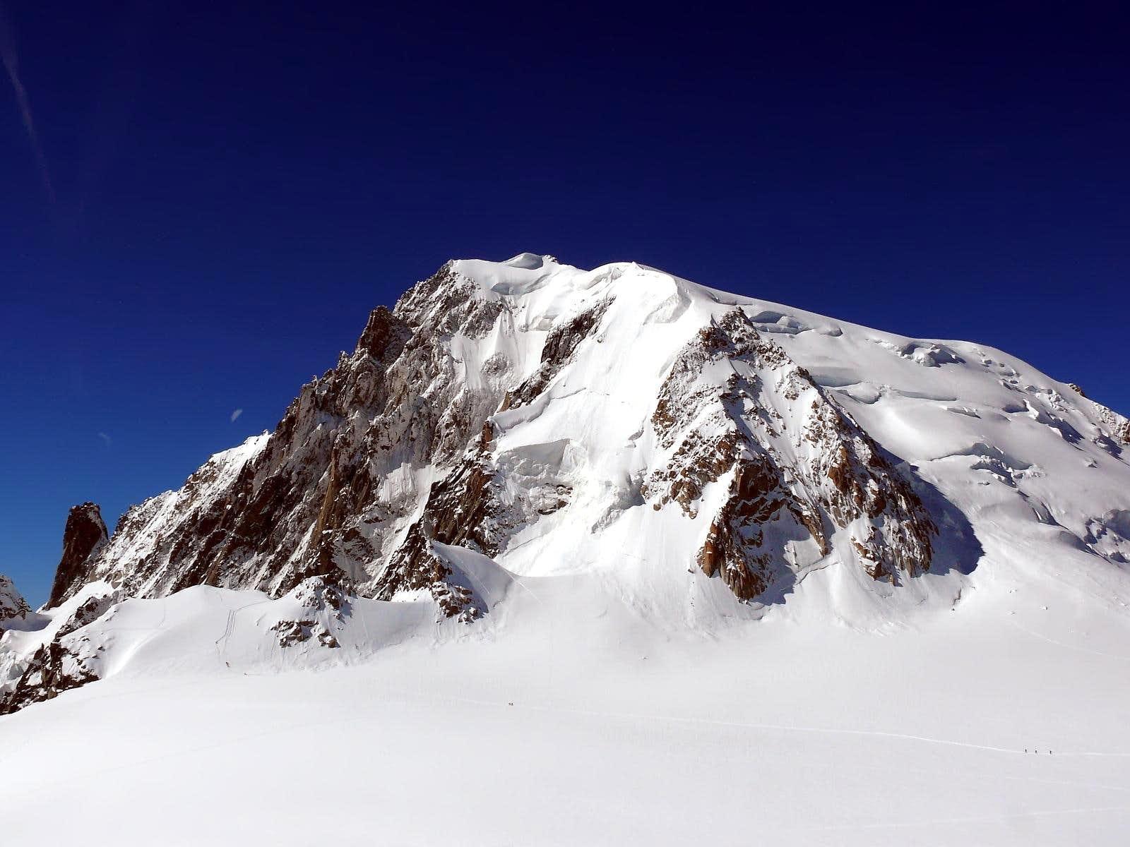 <font color=blue>▲</font>Views of Mont Blanc du Tacul