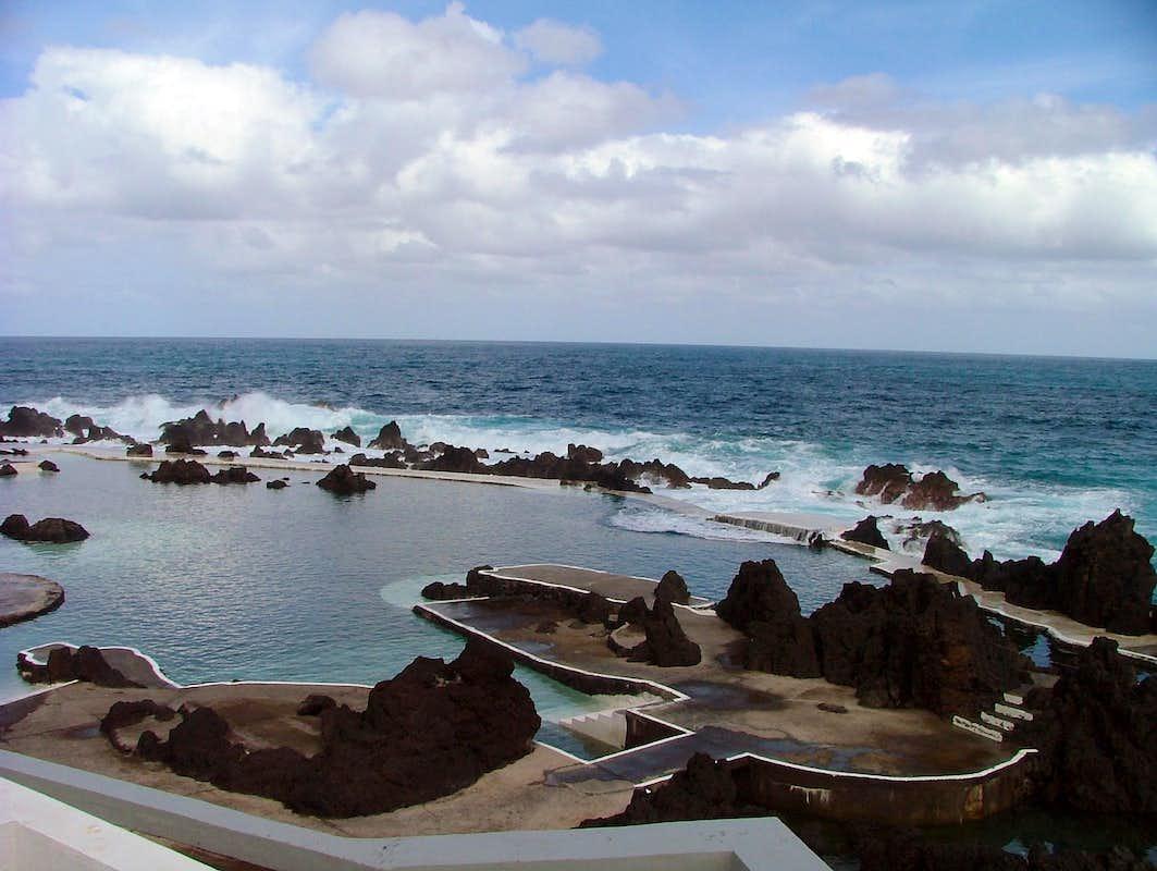 Porto Moniz Natural Swimming Pool Photos Diagrams Topos Summitpost