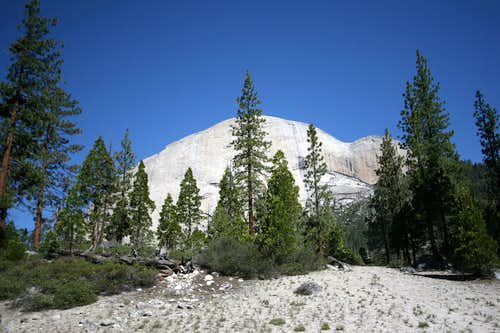 Back Side Of Half Dome