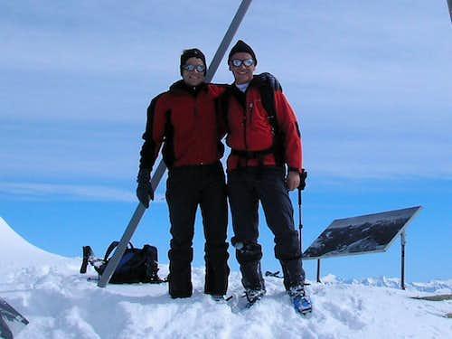 Summit of Titlis 3238m