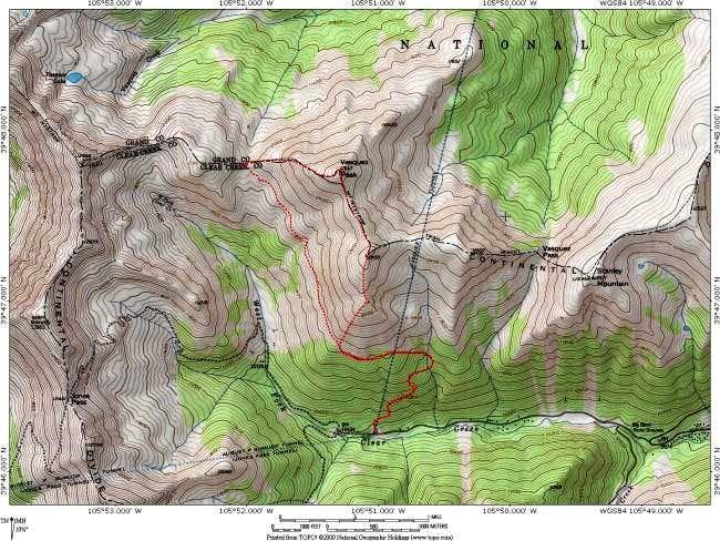 Vasquez Peak Topo Map: The...