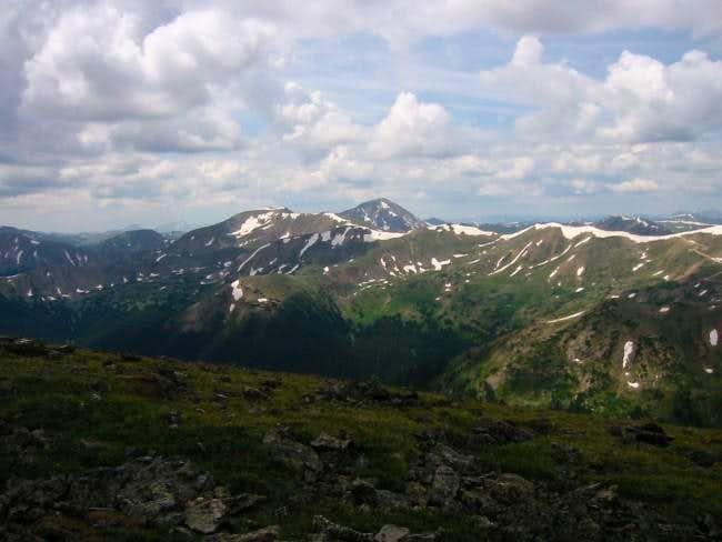 Pettingell Peak from the...