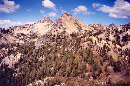 Pinnacle Mountain as viewed...