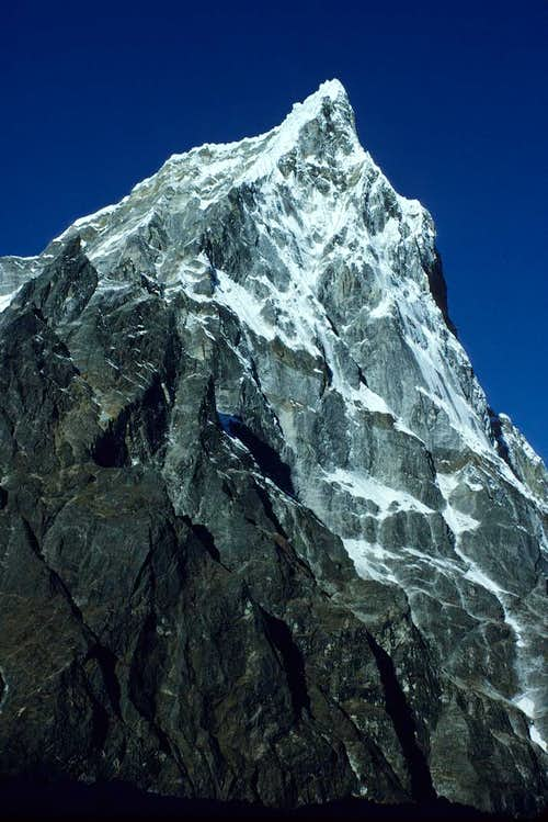 North East Face of Cholatse