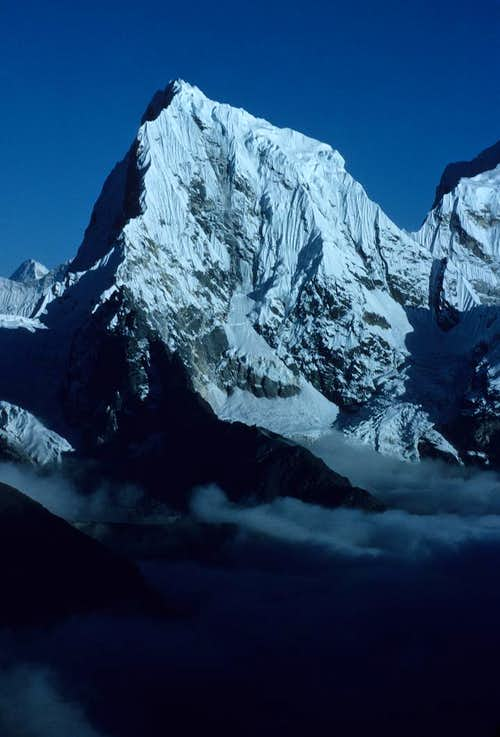 Cholatse from the summit of Gokyo Ri