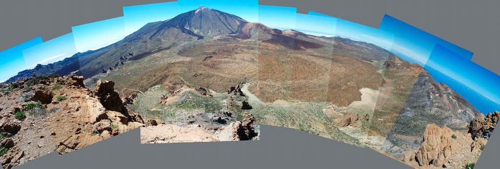 Guajara summit view