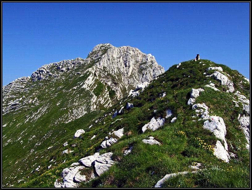 On the SE ridge of M. Plauris / Lopic
