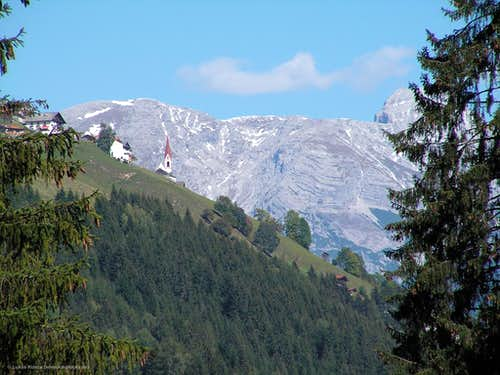 Solstein from Sellrain valley