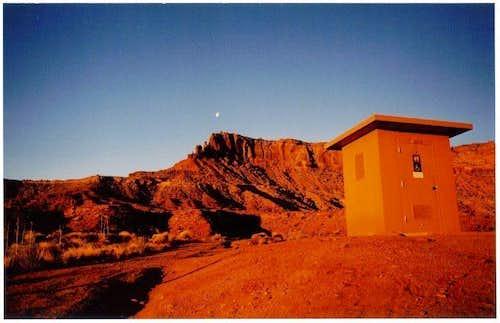 Restroom on Mars