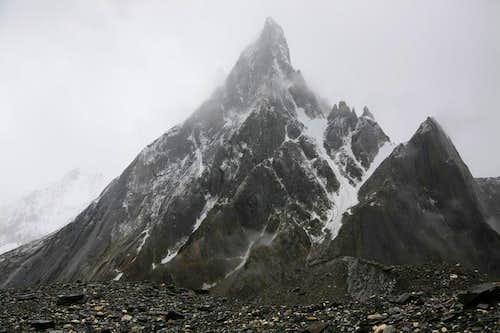 Cristal Peak (6237m), Baltoro Glacier, Karakoram, Pakistan