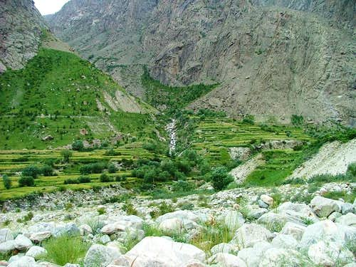 Hushe, Baltistan, Pakistan
