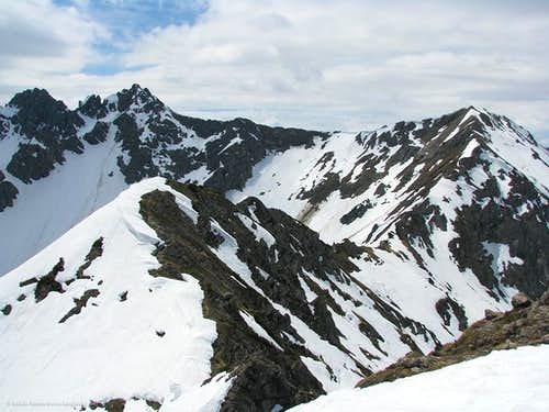 North-east ridge