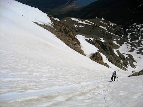Hopeful Couloir of Mt. Hope