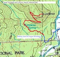 Map of Apgar Trail