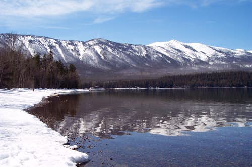 Lake McDonald and Apgar Mountains
