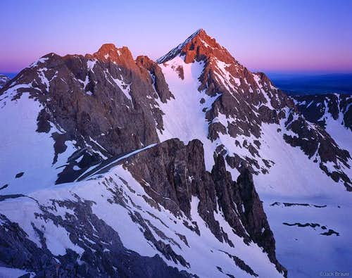 Sneffels Alpenglow
