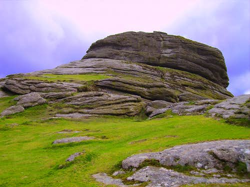 Haytor Rocks smaller Tor's