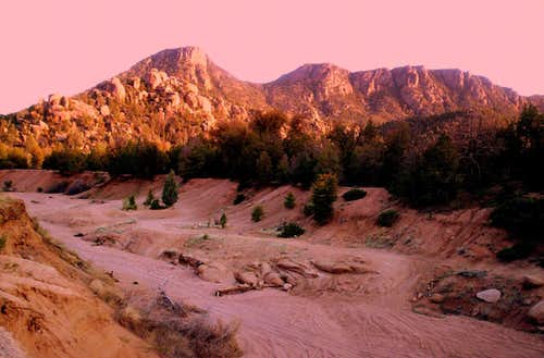 Dusk at Cypress Mountain