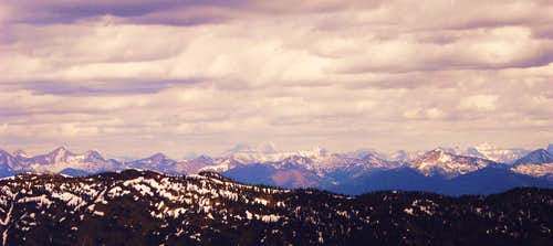 Mt. Stimson from Six Mile Peak
