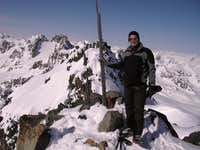 Summit of Piz Sarsura