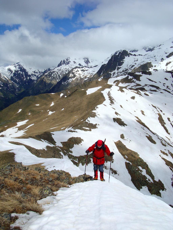 Turo de Frontenet summit ridge