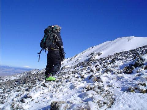Near the summit of Nevado de...