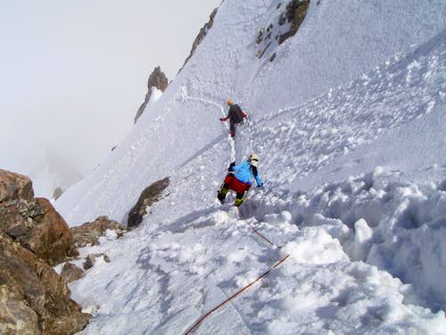 Jantugan - getting down from the Summit