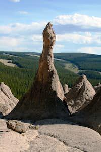 Wheeler Geologic phalrock